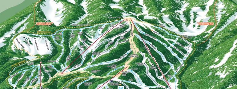 Trail Map Homewood