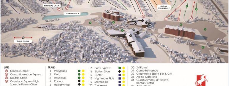 Trail Map Horseshoe Resort