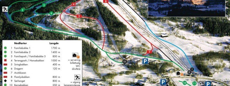 Trail Map Hurdal