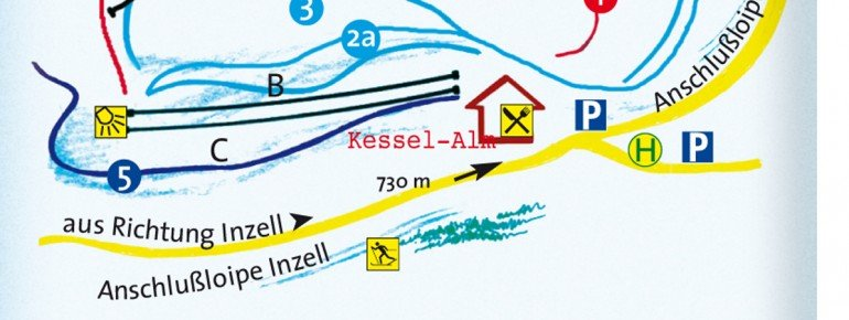 Trail Map Inzell