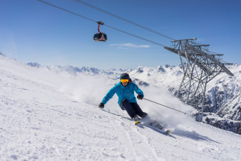 Experienced skiers will find an amazing selection of pistes in Ischgl!