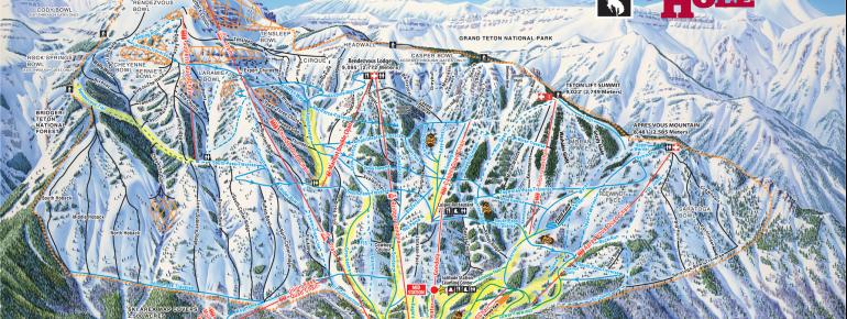 Trail Map Jackson Hole