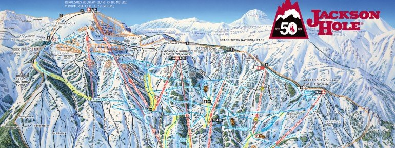 Ski Areas In Wyoming Map.Jackson Hole Ski Holiday Reviews Skiing