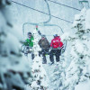 Snow guaranteed: an average of 440 centimeters of snow every year in Marmot Basin.