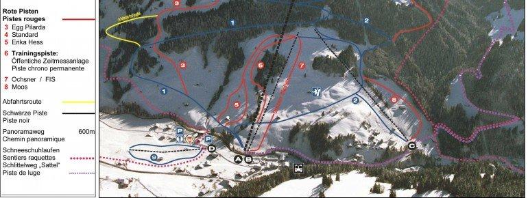 Trail Map Jaun