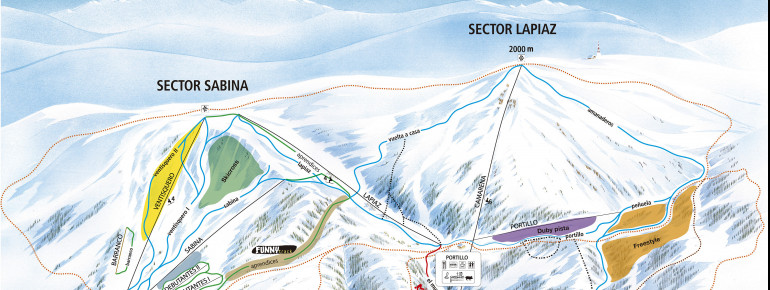 Trail Map Javalambre