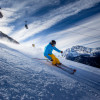 The areas higher up the mountain are suitable for more experienced skiers.