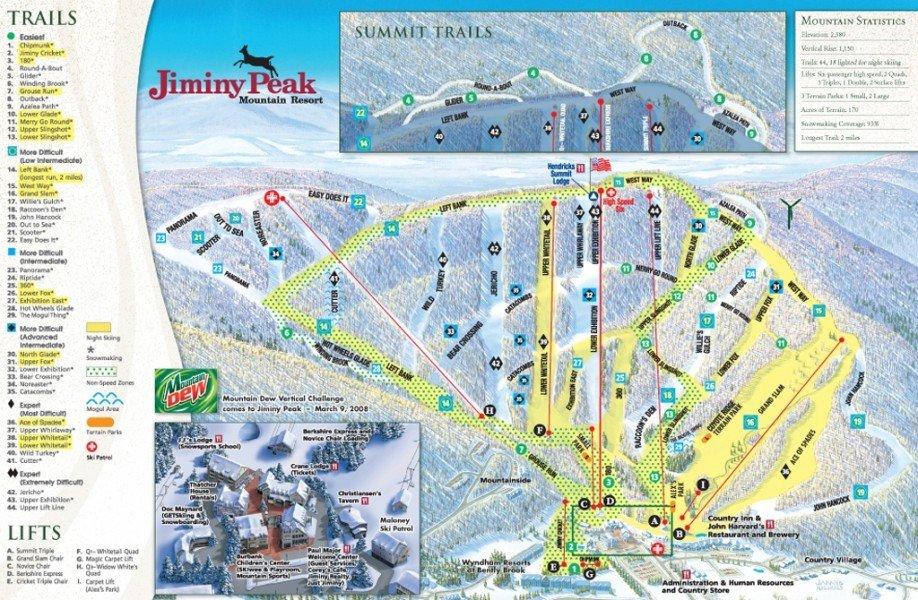 memo to jiminy peaks resort Planning a family vacation getaway trip to massachusetts and looking for hotels in new england visit jiminy peak mountain resort in the berkshires.