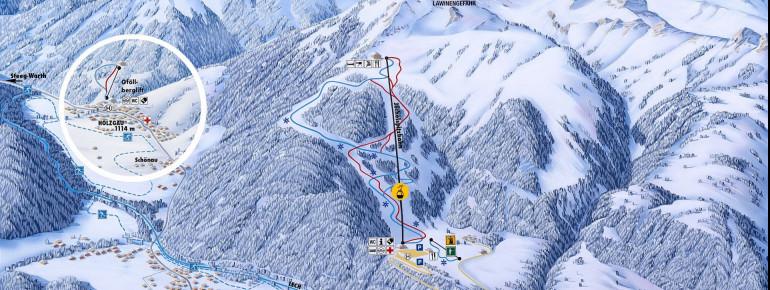 Trail Map Jöchelspitze