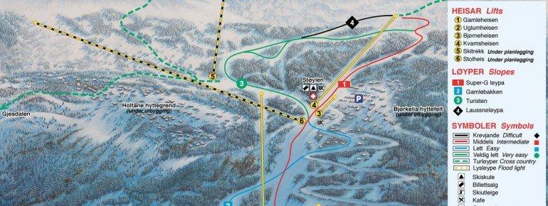 Trail Map Jolster