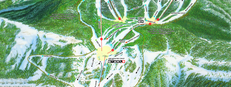 Trail Map June Mountain