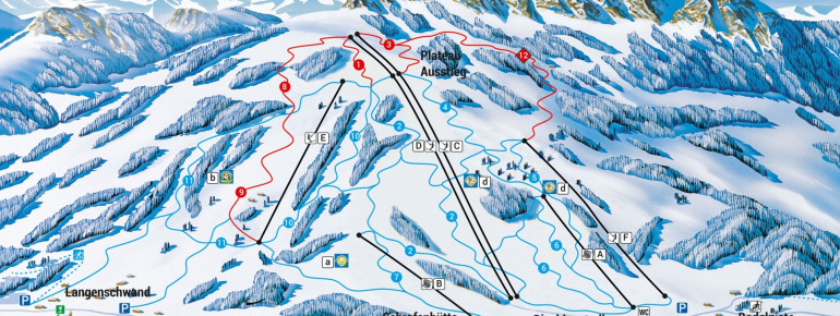 Trail Map Jungholz