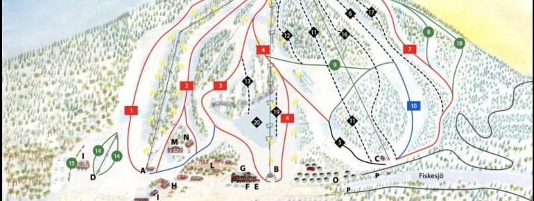 Trail Map Kåbdalis