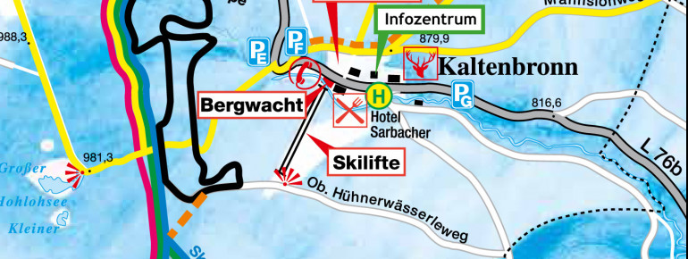 Trail Map Kaltenbronn