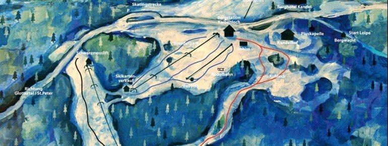 Trail Map Kandellifte