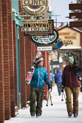 The stores and pubs in Keystone Downtown have plenty to offer.