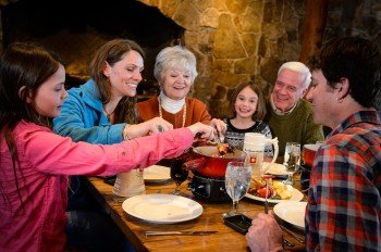 Fondue lovers will find their happiness at the Fondue Chessel.