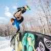 And we just can't get enough: A whopping six terrain parks as well as a half pipe are home to the ski resort.