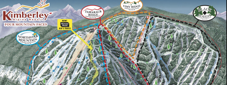 Trail Map Kimberley Alpine Resort