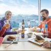 The summit restaurant combines Alpine design and culinary delights with a 5-star panorama.