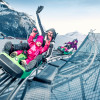 The Maisiflitzer, an Alpine Coaster on the Maiskogel, offers year-round sledding fun.