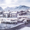 The new entry in Kaprun: the Kaprun Center as the valley station of the Maiskogelbahn with ski depot, sports shop and rental station.