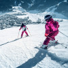 The flat and wide slopes at the Maiskogel are perfect for families.