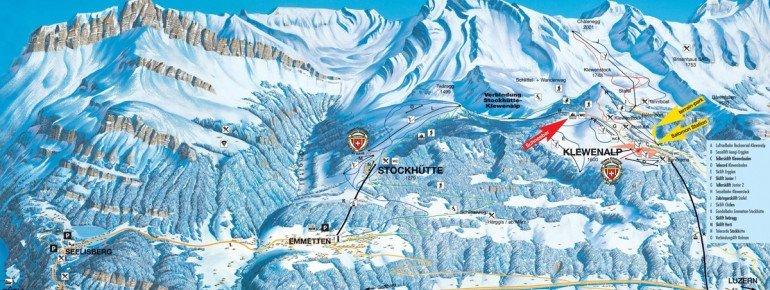 Trail Map Klewenalp Stockhütte