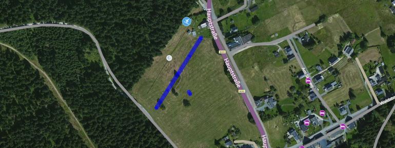 Trail Map Klingenthal Mühlleiten
