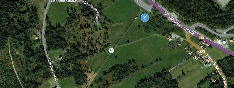 Trail Map Kniebis