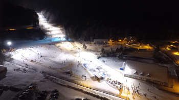 Night skiing at Skiareal Lipno