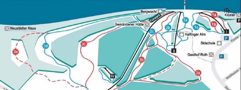 Trail Map Kreuzberg