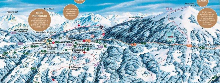 Trail Map Kristberg Silbertal
