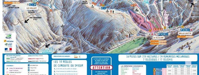 Trail Map La Bresse Hohneck