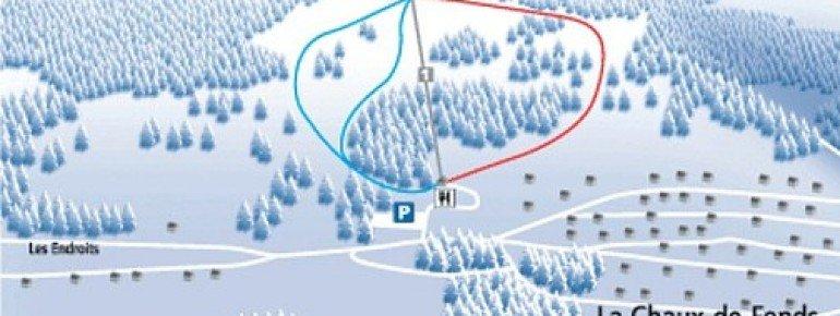 Trail Map La Chaux de Fonds