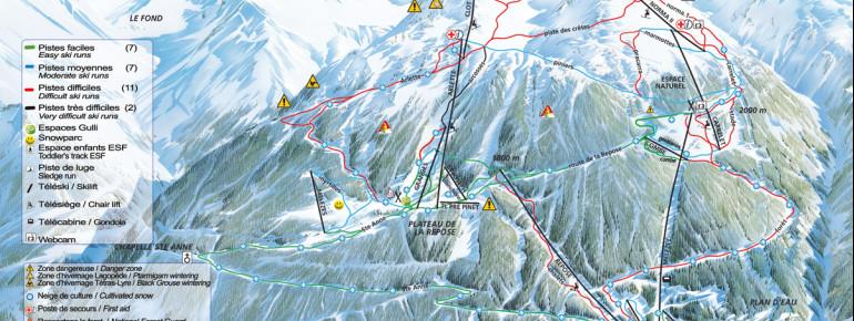 Trail Map La Norma