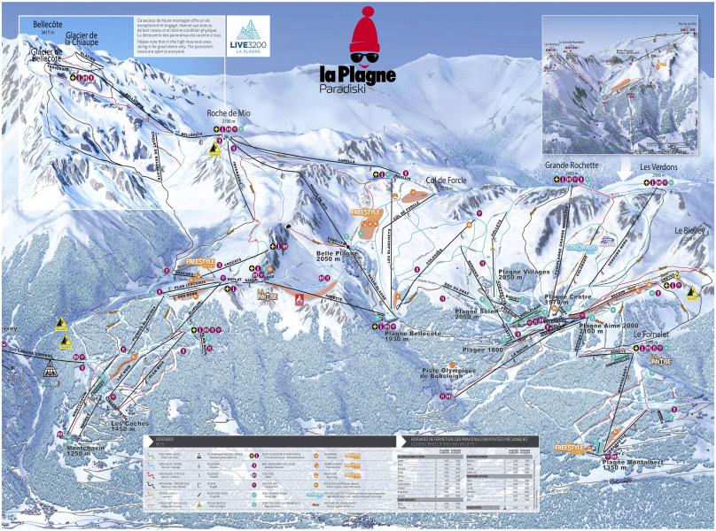 La plagne ski holiday reviews skiing - Office du tourisme la plagne montalbert ...