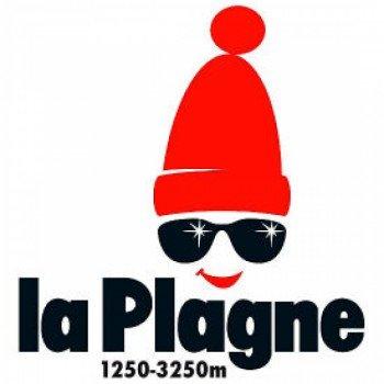 Logo ski resort La Plagne