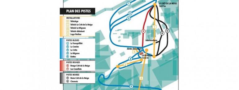 Trail Map Robella Val-de-Travers