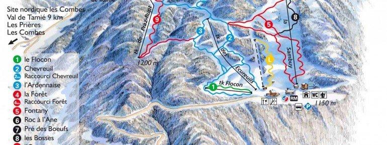 Trail Map La Sambuy