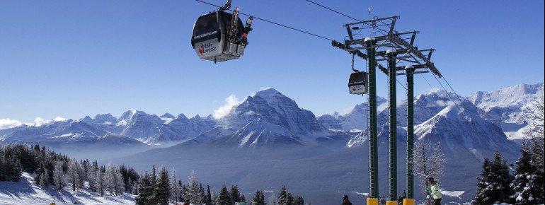 Lake Louise - fabulous ski resort meets divine scenery.