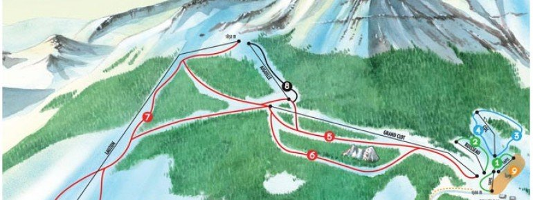 Trail Map Laye en Champsaur
