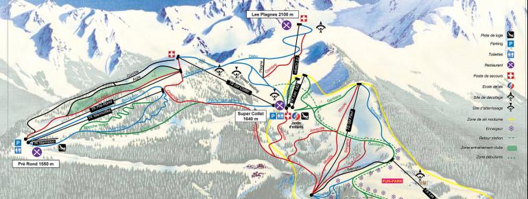Trail Map Le Collet d'Allevard