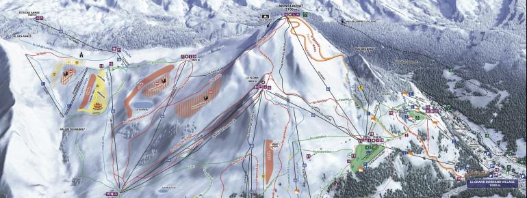 Trail Map Le Grand Bornand