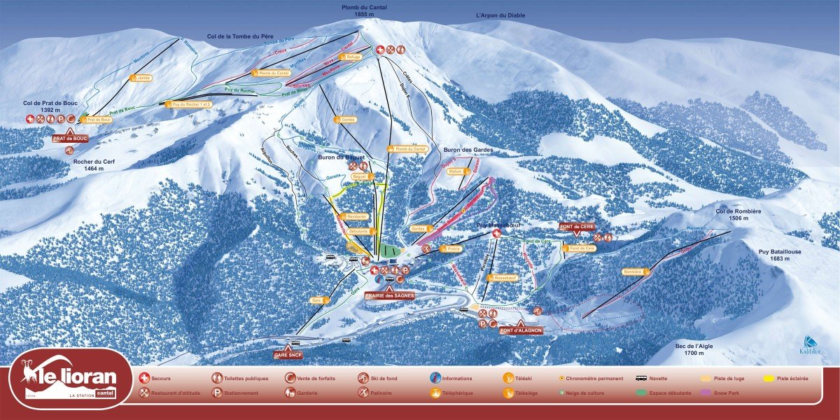 Le lioran ski holiday reviews skiing - Office tourisme le lioran ...