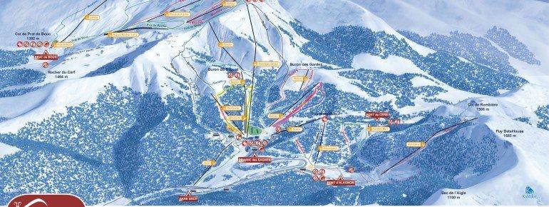 Trail Map Le Lioran