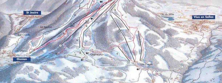 Trail Map Les Brasses