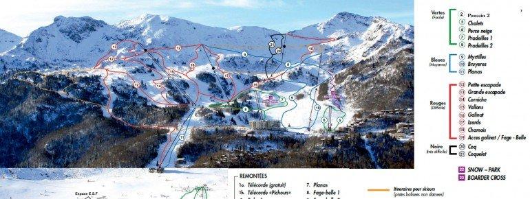 Trail Map Les Monts d Olmes