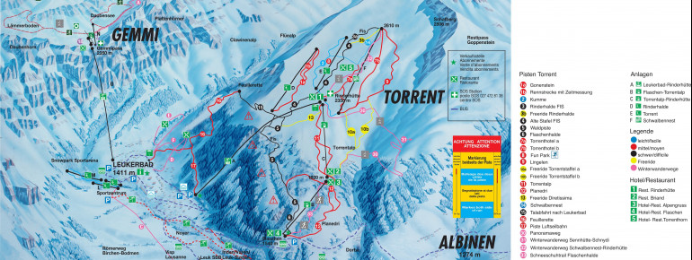 Trail Map Leukerbad