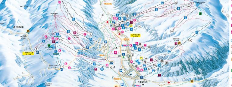 Trail Map Livigno
